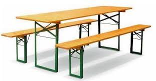 Bord og benksett